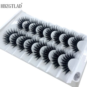 5 /8 pairs Natural Eyelashes Extension