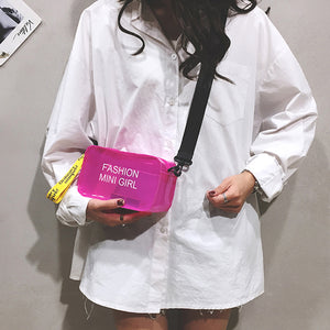 PVC Jelly Small Tote Bag