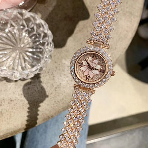 Elegant Full Crystals Jewelry Watches