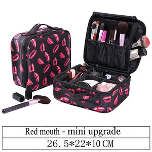 Multi-Story Professional Cosmetic Bag