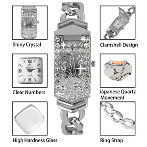 Luxury Embed Crystal Diamond Watches
