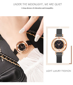 Luxury Color Magnetic Dial Watches