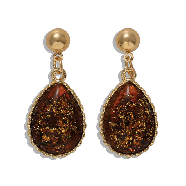 Bohemia Metal Drop Earrings