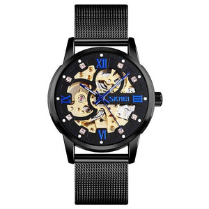 Automatic Hollow Design Waterproof Watches