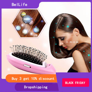 Mini Antistatic Round Hair Comb