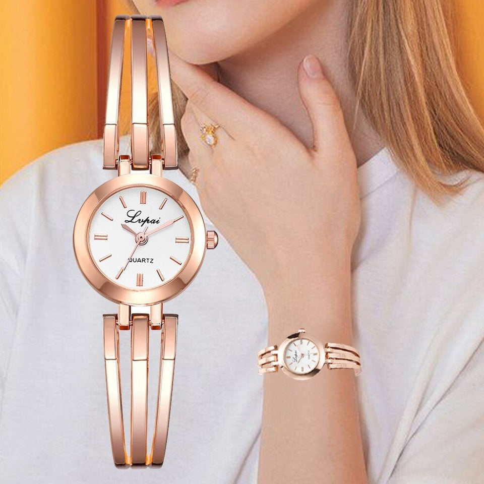 Luxury Rose Gold Wristwatches