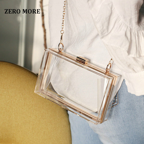 Transparent Crossbody Bag