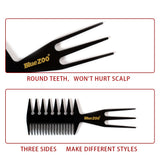 Three-sided Styling Hair Comb