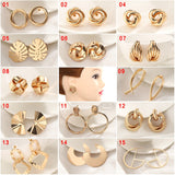Twisted Love Knot Stud Earrings