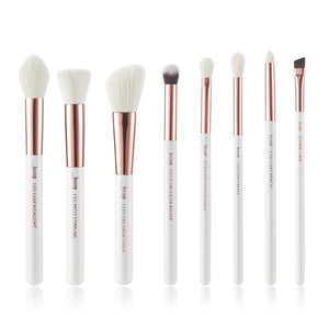Pearl White/Rose Gold Makeup Brushes Set