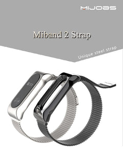 2 Strap Bracelet Mi Band 2 Wrist Watch