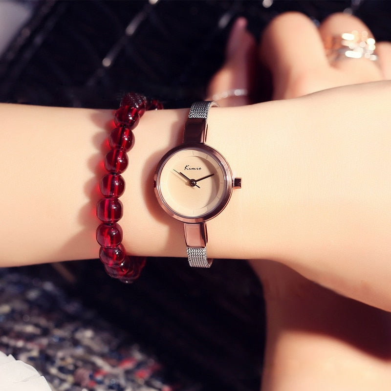 Ultra Thin Women's Bracelet Watch