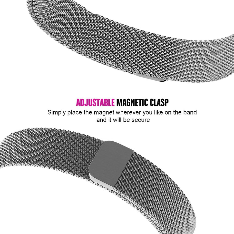 Milanese Loop Steel Metal Strap Watches