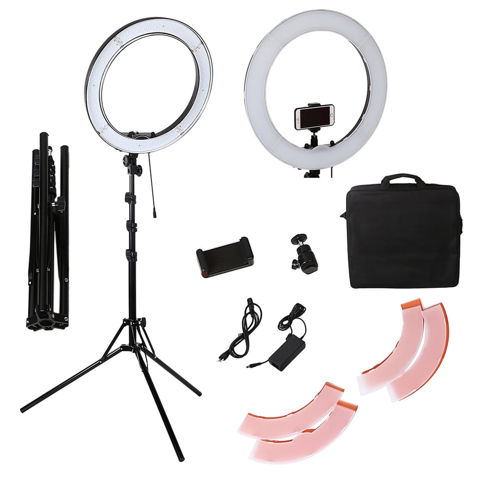 18'' 55W Studio Ring Light With Tripod