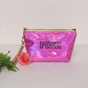 Waterproof PINK Cosmetic Bag