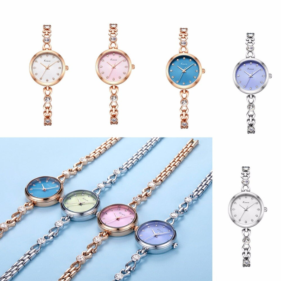 Small Dial Thin Strap Quartz Watches