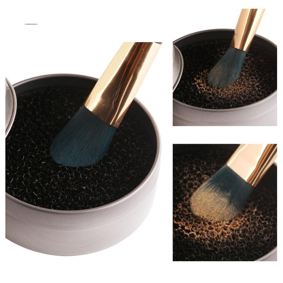 Makeup Brush Cleaner Sponge