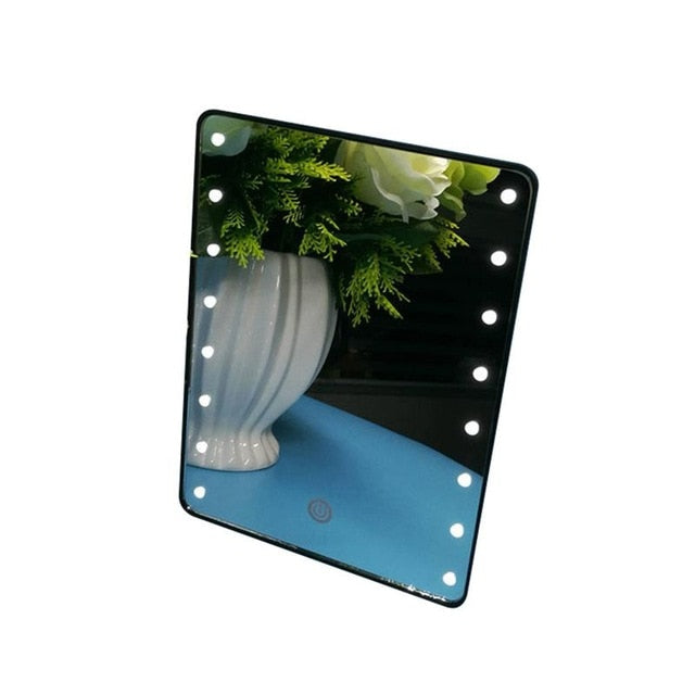 LED Cosmetic Mirror with Touch Dimmer