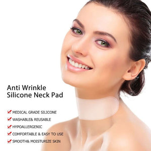 Anti Wrinkle Silicone Neck Pad