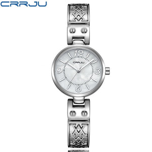 Luxury Flower Casual Quartz Wristwatch
