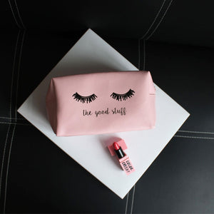 Pink Vanity Make Up Bag