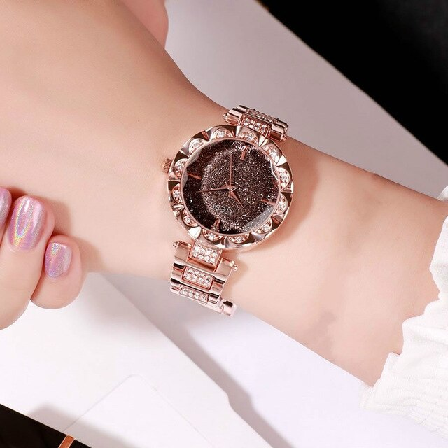 Rose Gold Bracelet Watches