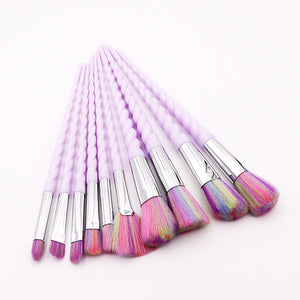 Unicorn Cosmetic Makeup Brush Set