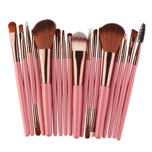 """Amelie"" Essential Makeup Brush Set"
