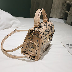 Luxury Designer Leather Handbag