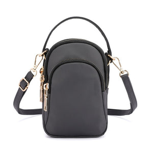 Waterproof Flap Crossbody Bag