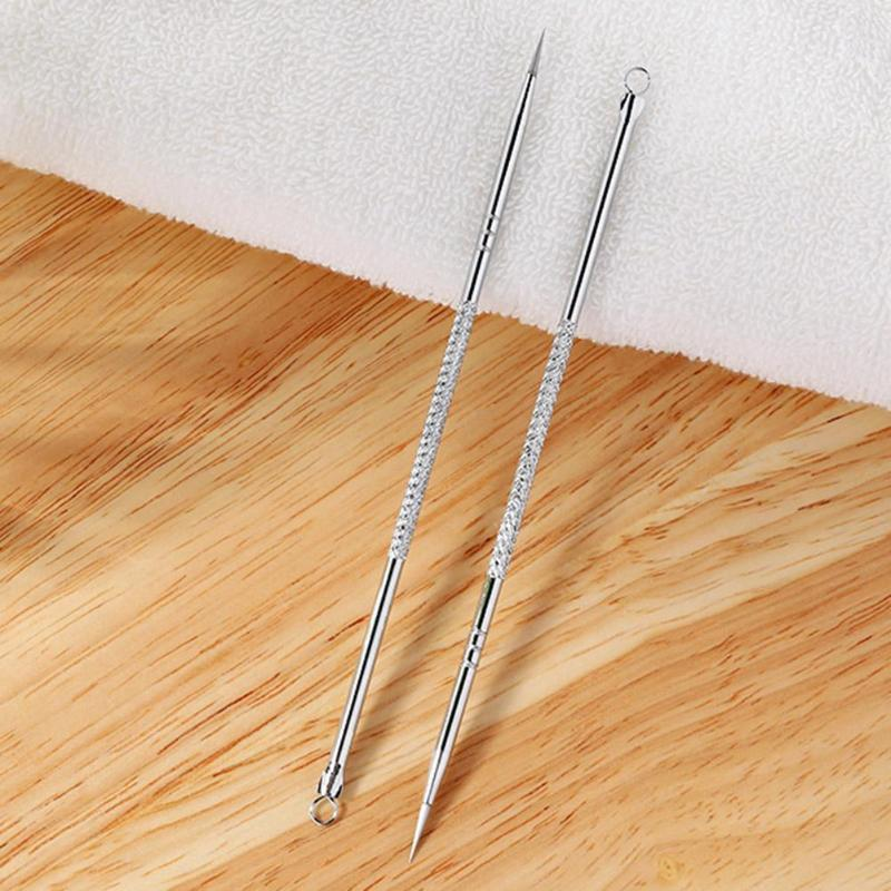 1pcs Silver Blackhead Acne Extractor