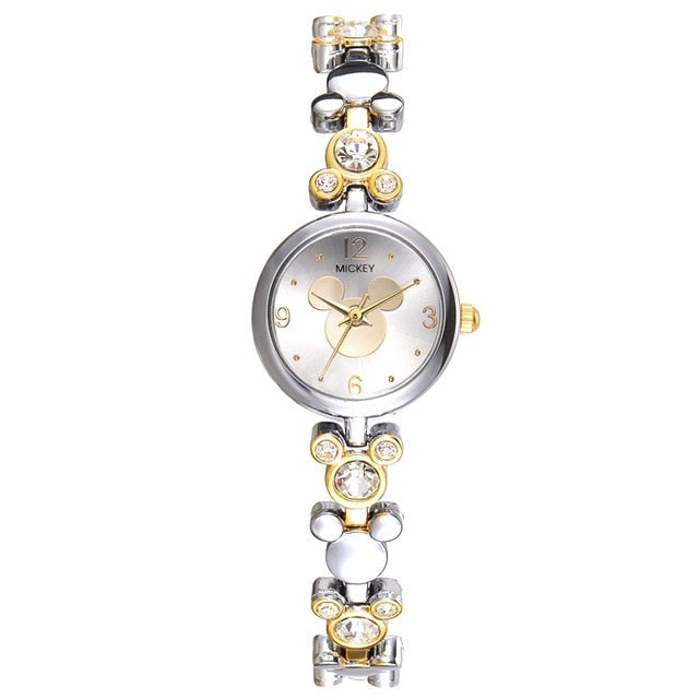Mickey Mouse Bling Rhinestone Watches