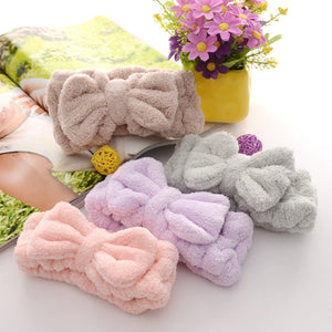 Soft Bowknot Elastic Hair Band