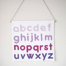 Personalised Alphabet Wall Hanging
