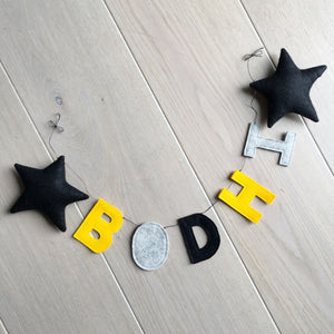 Personalised Name Garland