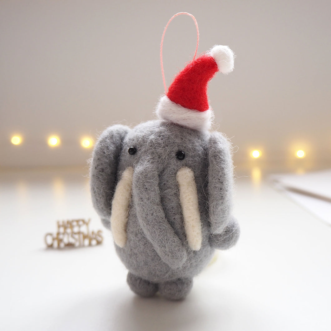 Elephant Christmas Tree Decoration
