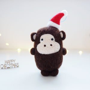 Monkey Christmas Tree Decoration