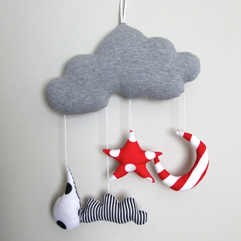Storm Cloud Nursery Mobile