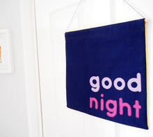Good Morning & Good Night Double Sided Wall Hanging