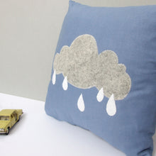 Rain Cloud Nursery Cushion