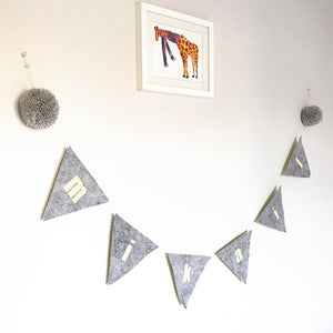 Personalised Name Felt Bunting