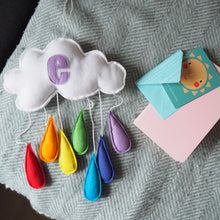 Personalised Rainbow Nursery Mobile
