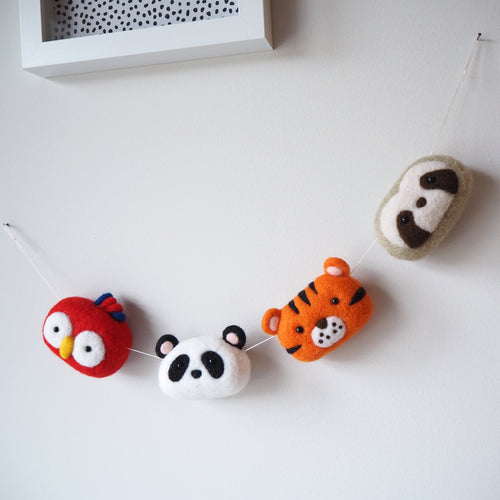 Jungle Animal Nursery Garland
