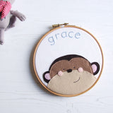 Personalised Name Hoop