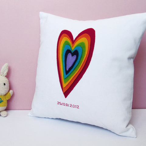 Rainbow Baby Cushion