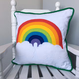 Rainbow & Cloud Cushion