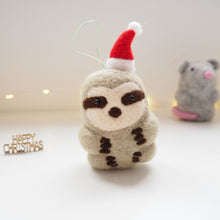 Sloth Christmas Tree Decoration
