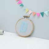 Personalised Letter Hoop