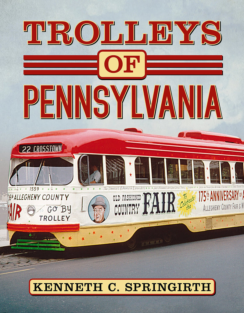 Trolleys of Pennsylvania - available from America Through Time