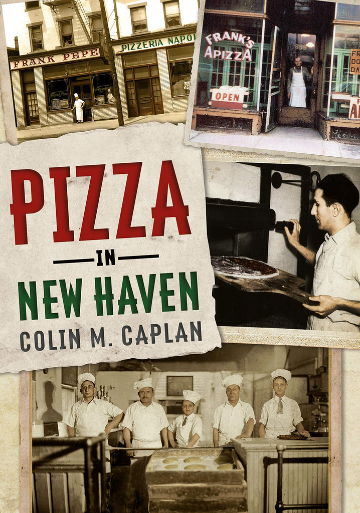 Pizza in New Haven - available now from America Through Time